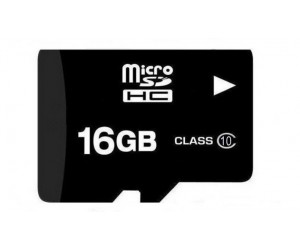 16GB Micro SD Card with Raspberry Pi OS - Class 10