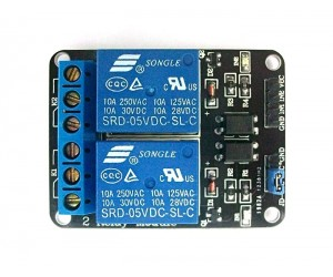 2 Channel Relay Module - 5V - Active Low