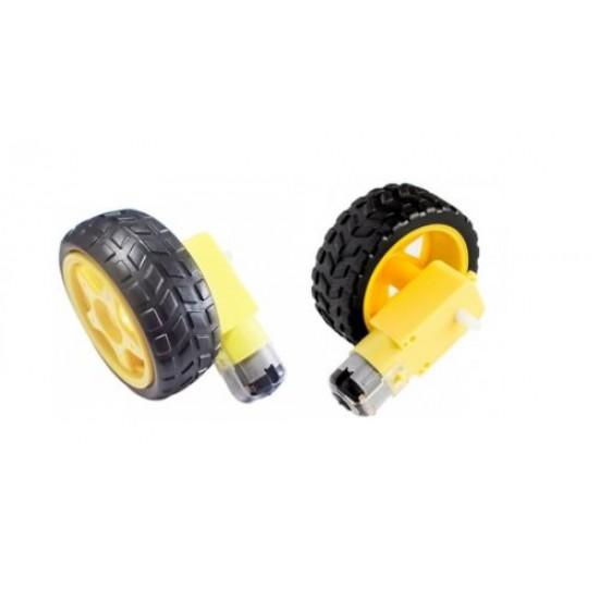 Robot Smart Car Wheel Tyre for BO Motor