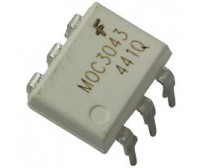 MOC3043 IC - Zero-Cross Optoisolator Triac Driver IC