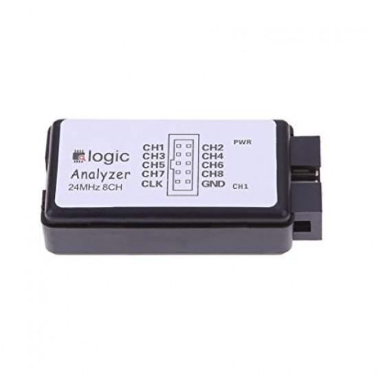 Logic Analyzer 24MHz 8Ch Debug Tool