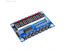 TM1638 Key Display Module