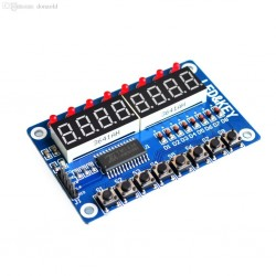 TM1638 Key Display Module