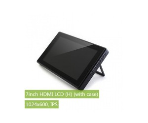 "7"" Capacitive Touch Screen With Plastic ABS Case For Raspberry Pi 3 and Raspberry Pi 4"