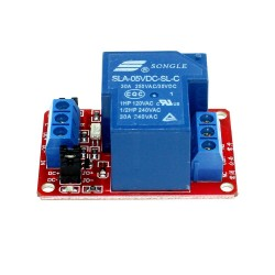 5V 30Amps Optical Coupling Isolation Single Channel Relay Module with Optocoupler H/L Level Triger