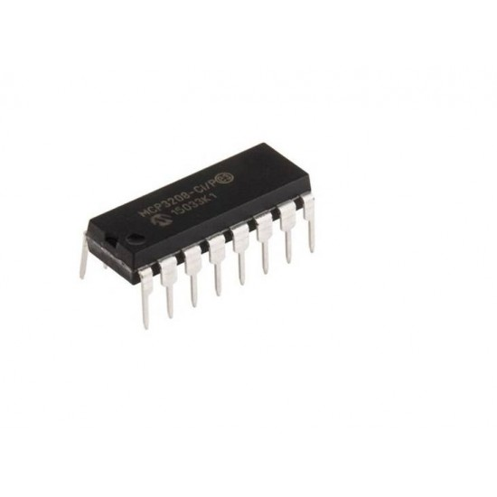 MCP3208 -8 Channel,12 Bit ADC (Analog to Digital Converter)