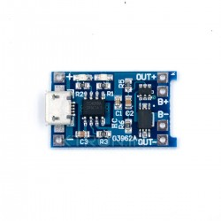 TP4056 1A Rechargeable Lithium Battery Charging Module Board Electrical Impulse