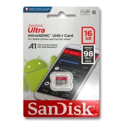 16GB Micro SD Card with Raspberry Pi OS - Class 10
