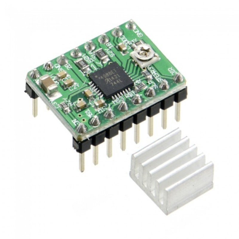 Green a4988 stepper motor driver for Stepper motor with driver