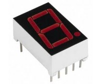 7 Seg Display - Red - Common Cathode - 0.56""