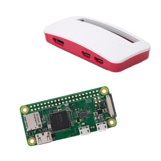 Raspberry Pi Zero W  (Basic Pack with Pi Zero W, Case and Camera Connector)