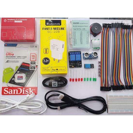 Raspberry Pi 4 Model B - 2GB - IoT Kit