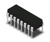 MCP3208 - 8 Channel, 12 Bit ADC (Analog to Digital Converter)