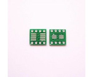 SMD to DIP 8Pin PCB Adapter
