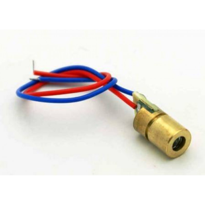 Laser diode nm v mw with copper head red