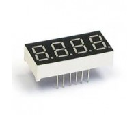 4 Digit Seven Segment Display Common Anode (Red)