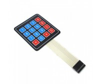 4x4 Keypad - 16 Key - Matrix Membrane Type