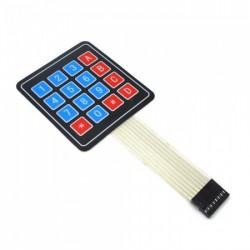 4x4 Keypad - 16 Key - Matrix Membrane Type