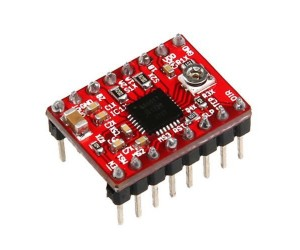 A4988 Stepper Motors Driver Module with Heat sink for Arduino/Raspberry-Pi/Robotics