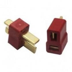 Dean Connector T Plug for ESC