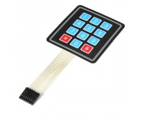 4x3 Keypad - 12 Key - Matrix Membrane Type