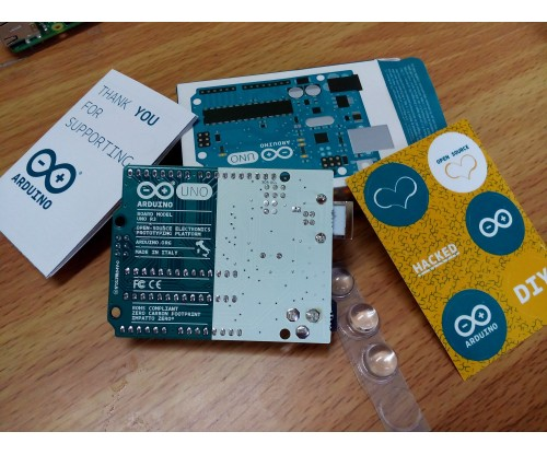 Arduino Uno R3 - Original Made in Italy at MG Super Labs India