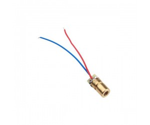 Laser Diode 650nm 3v 5mw with Copper Head - Red