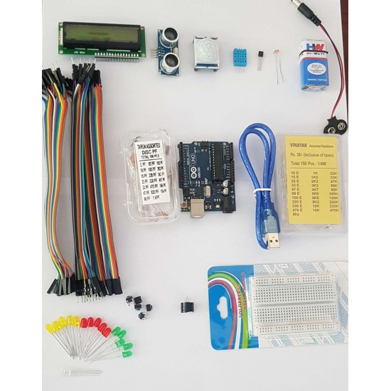 Arduino Uno  R3 (Clone) Advanced Kit