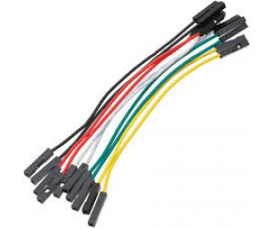 Female to Female jumper wires-10 Pieces