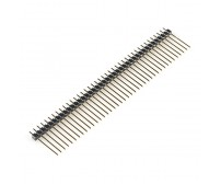 "Male Header - 40 Pin - 2.54mm / 0.1"" Pitch - Long"
