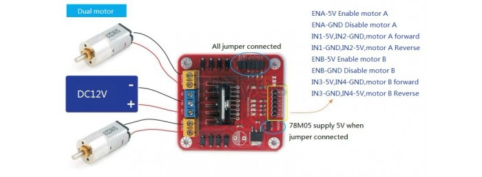Motor Driver Modules & IC