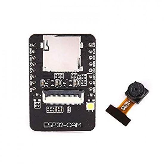 ESP32 CAM - Camera Development Board with WiFi & Bluetooth (Camera Module OV2640 2MP)