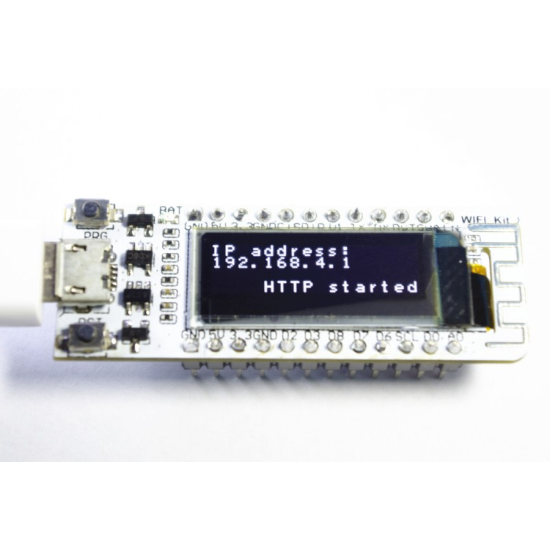 Buy Buy Online in India WiFi Kit 8 - ESP8266 Dev Board with OLED and