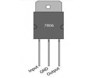7806 - Voltage Regulator – 6V