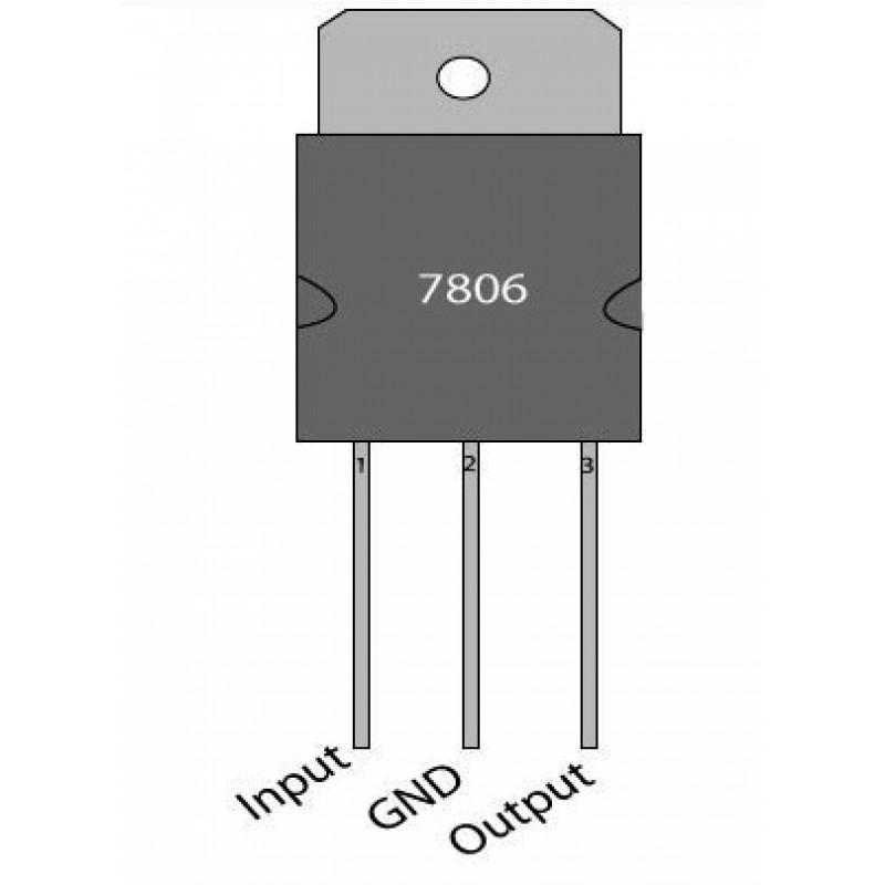 LM7806 - Voltage Regulator – 6V