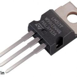 LM317T 3 Terminal Adjustable Positive Voltage Regulator