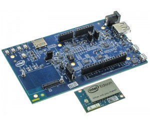 Intel Edison and Arduino Breakout Board