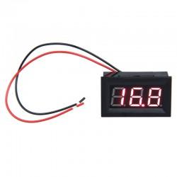 "0.56"" 3.5-30 Volt 2 Wire DC Voltmeter - Digital"