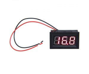 "0.56"" 3.5-30 Volt 2 Wire DC Voltmeter - Digital"