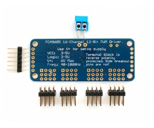 16-Channel 12-bit PWM/Servo Driver - I2C interface - PCA9685