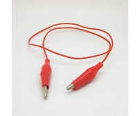 Plastic Insulating Alligator Clip Cable Circuit Test Leads Crocodile Jumper Wire
