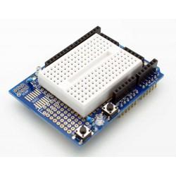 Arduino Proto Shield with Breadboard
