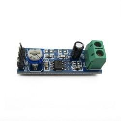 LM386 200 Times Gain Audio Amplifier Module