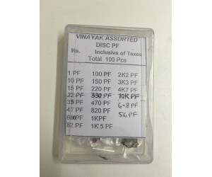 Capacitors Box - Assorted