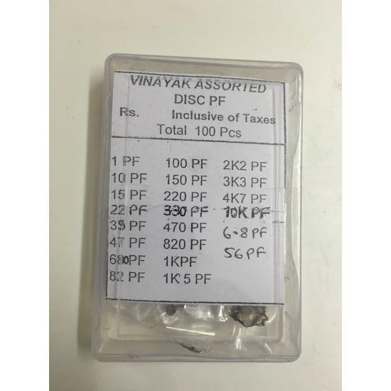 Capacitors Box - Assorted
