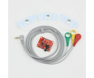 AD8232-ECG Monitor Sensor Module with Electrodes