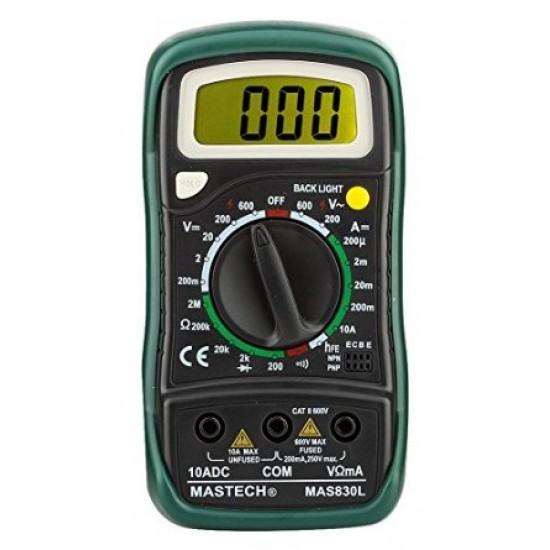 Mastech Digital Multimeter-MAS830L