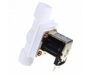 "1/2"" Electric Solenoid Valve Flow Switch - DC 12V - 250mA"