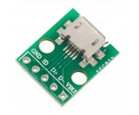 Micro USB To DIP Adapter 5pin Female Connector