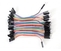 Male to Female Jumper Wires - 40 pieces